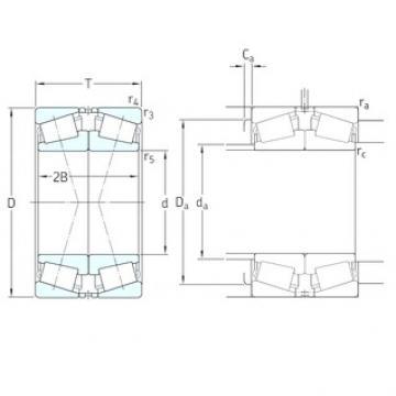 65 mm x 120 mm x 23 mm  SKF 30213J2/QDF tapered roller bearings