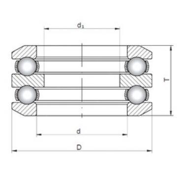 ISO 54317 thrust ball bearings