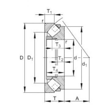 FAG 292/710-E-MB thrust roller bearings