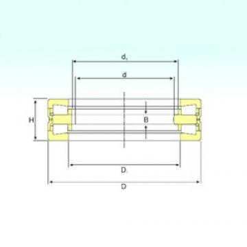 550 mm x 760 mm x 50 mm  ISB 350976 C thrust roller bearings