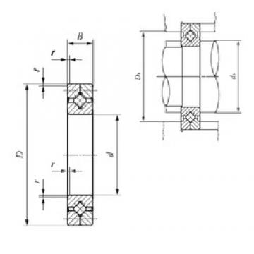 120 mm x 180 mm x 25 mm  IKO CRB 12025 UU thrust roller bearings
