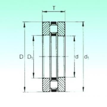 35 mm x 62 mm x 5,25 mm  NBS 81207TN thrust roller bearings
