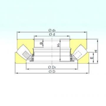 440 mm x 600 mm x 30 mm  ISB 29288 M thrust roller bearings