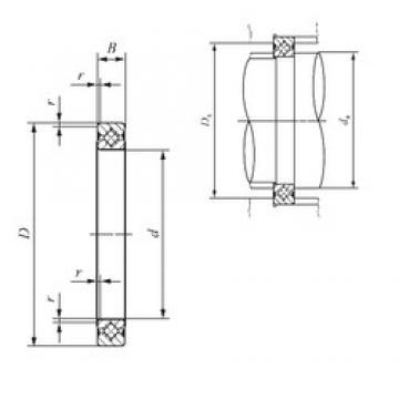 90 mm x 106 mm x 8 mm  IKO CRBS 908 V thrust roller bearings