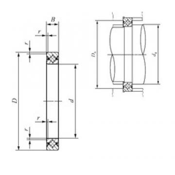 80 mm x 96 mm x 8 mm  IKO CRBS 808 thrust roller bearings
