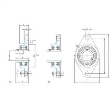 SKF FYTB 30 WF bearing units