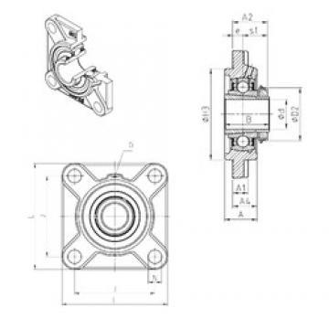SNR UKFS310H bearing units