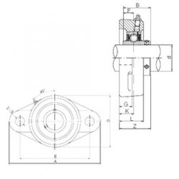 80 mm x 180 mm x 82,6 mm  ISO UCFL216 bearing units