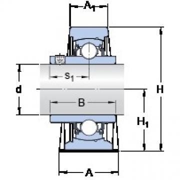 SKF SY 1.1/2 TF/VA201 bearing units