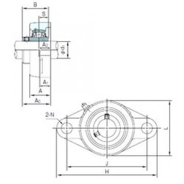NACHI UCFLX08 bearing units