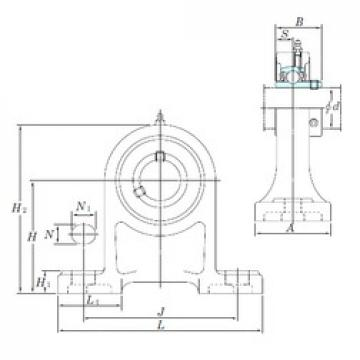 KOYO UCPH210-31 bearing units