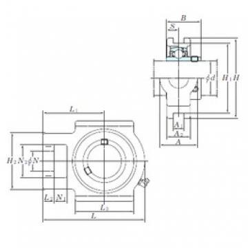 KOYO UCT214 bearing units
