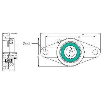 AST UCFL 201 bearing units