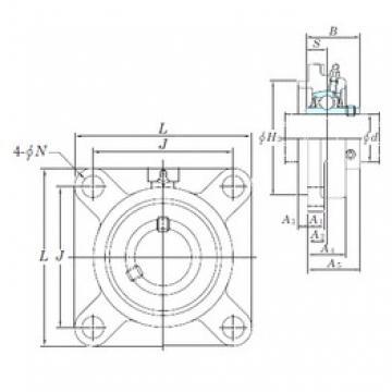 KOYO UCFS305 bearing units