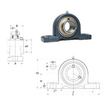 FYH UCPX06 bearing units