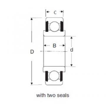 20 mm x 52 mm x 23 mm  SIGMA 88604 deep groove ball bearings