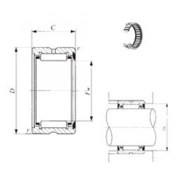 IKO RNA 6901U needle roller bearings