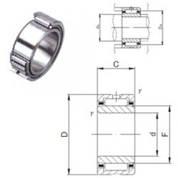 60 mm x 85 mm x 25 mm  JNS NA 4912 needle roller bearings