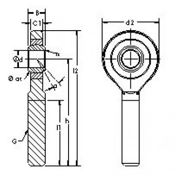 AST SAZP15S plain bearings