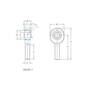 SKF SALKB12F plain bearings