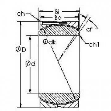 AST GEC340HC plain bearings