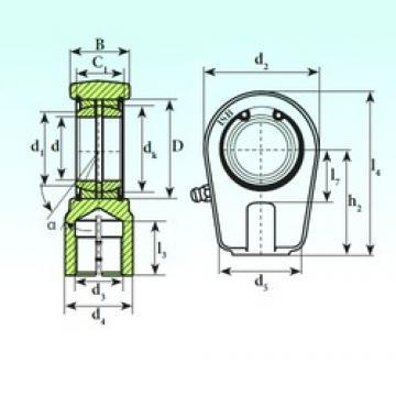 100 mm x 130 mm x 70 mm  ISB TAPR 495 N plain bearings