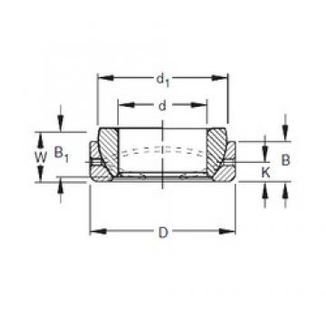 Timken 10SBT16 plain bearings