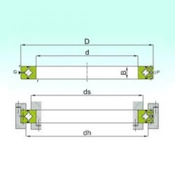 60 mm x 90 mm x 13 mm  ISB CRBH 6013 A thrust roller bearings