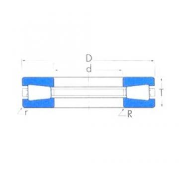 Timken T709 thrust roller bearings