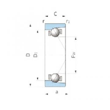 IJK ASB1535 angular contact ball bearings