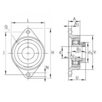 INA PCJT1 bearing units