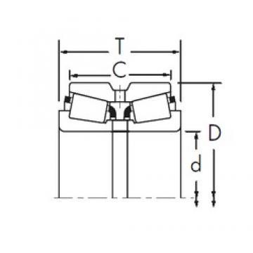 Timken HM231132/HM231116D tapered roller bearings