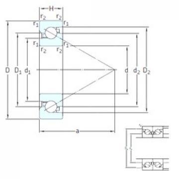 25 mm x 62 mm x 17 mm  SNFA BS 325 7P62U thrust ball bearings