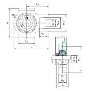 NACHI UCT315 bearing units