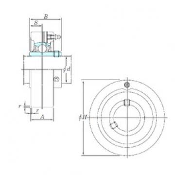 KOYO UCC211-35 bearing units