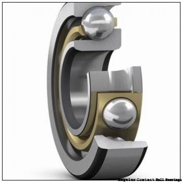 17 mm x 40 mm x 12 mm  SKF 7203 CD/P4A angular contact ball bearings