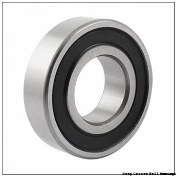 5 mm x 16 mm x 5 mm  NMB RF-1650 deep groove ball bearings