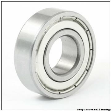 127 mm x 142,875 mm x 7,938 mm  KOYO KBC050 deep groove ball bearings