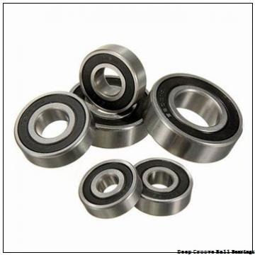 25 mm x 52 mm x 34,9 mm  FYH NA205 deep groove ball bearings