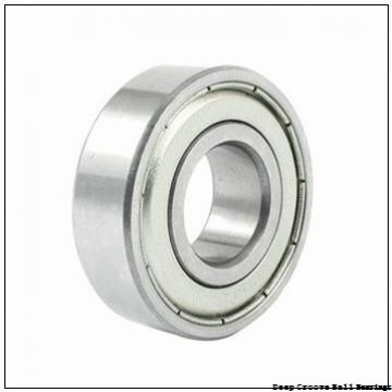 9,525 mm x 22,225 mm x 7,142 mm  NSK FR 6 deep groove ball bearings