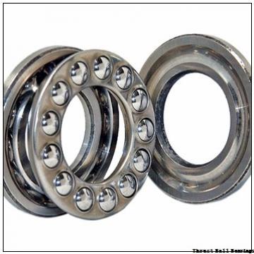 90 mm x 190 mm x 43 mm  SKF NU 318 ECP thrust ball bearings