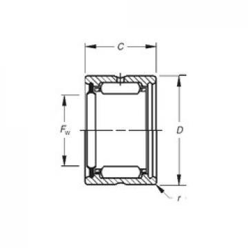 Timken HJ-405228RS needle roller bearings