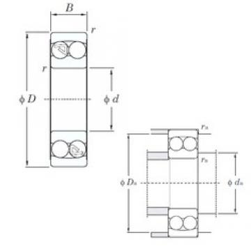 15 mm x 42 mm x 17 mm  KOYO 2302 self aligning ball bearings