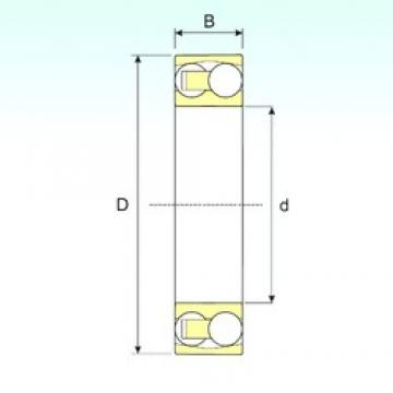50 mm x 90 mm x 20 mm  ISB 1210 TN9 self aligning ball bearings