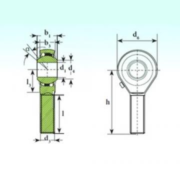 ISB TSM 20 BB-O self aligning ball bearings