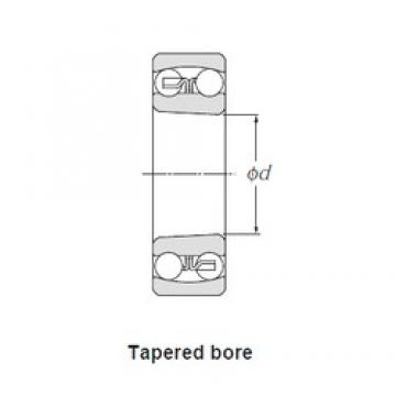 40,000 mm x 90,000 mm x 33,000 mm  SNR 2308K self aligning ball bearings