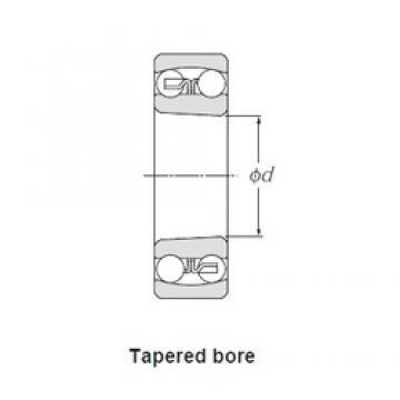 40,000 mm x 90,000 mm x 33,000 mm  SNR 2308KG15 self aligning ball bearings