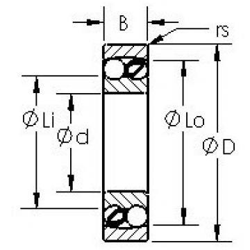 AST 2314 self aligning ball bearings