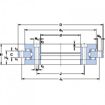 SKF NRT 180 B thrust roller bearings