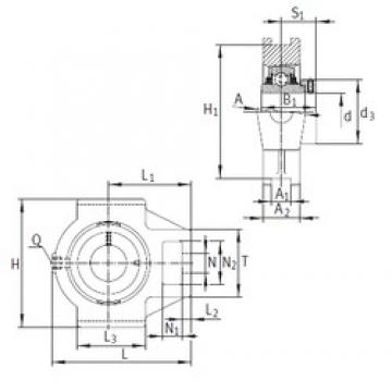 INA TTUE60 bearing units